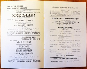 SCT in Liverpool 19 Oct.1908  Works performed