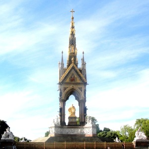 Albert Memorial, Royal Albert Hall